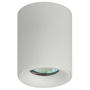 Светильник накладной ЭРА OL1 GU10 WH GU10 D80x100мм белый 5056306016608
