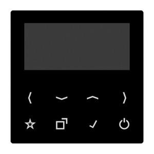Дисплей для смарт радио DAB+ Bluetooth Jung AS/A черный