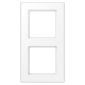 Рамка 2-ая Jung A550 Белоснежный матовый
