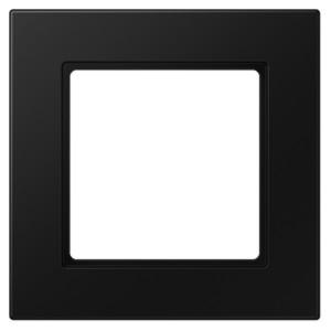 Рамка 1-ая Jung A550 Матовый черный
