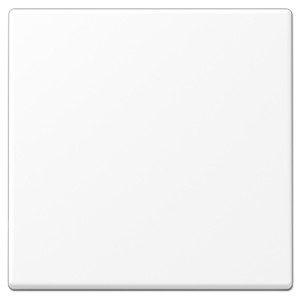 Клавиша 1-ая для одноклавишного выключателя или кнопки Jung LS Белоснежный матовый