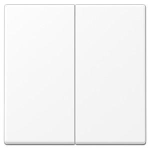 Клавиша 2-ая для двухклавишного выключателя или кнопки Jung LS Белоснежный матовый