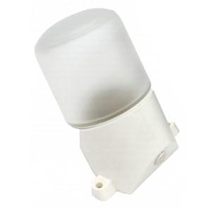 Светильник для бани ЭРА НББ 01-60-002 пластик/стекло, под лампу 60W с цоколем Е27 5056396212621