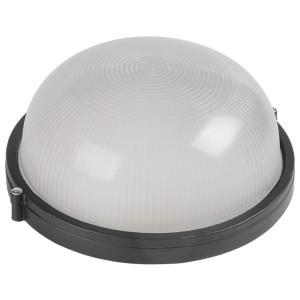 Светильник влагозащищенный НПП1101 100W E27 IP54 круглый черный ИЭК