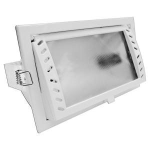 Светильник Downlight FL-2021 150W RX7s White поворотный белый 225x135 без ЭПРА
