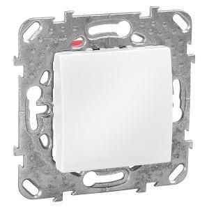 Выключатель  SE Unica, белый