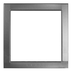 Декоративный элемент Unica серебро