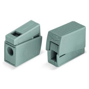 Клеммник WAGO 1+1 (одножил. 1-2,5 мм2 и многожил. 0,5-2,5 мм2) 24-16A Cu [уп. 100шт]