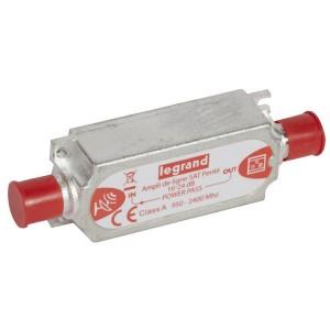 Усилитель SAT Legrand линейный 950-2400МГц усиление 20дБ