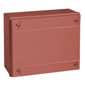 Коробка ответвительная с гладкими стенками DKC Express IP56, 100х100х50мм,цвет красный