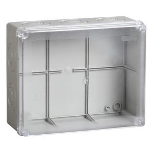 Коробка ответвительная DKC Express с гладкими стенками прозрачная, IP56, 150х110х70мм