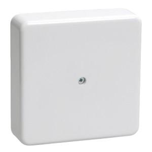 Коробка КМ41212-01 распаячная для о/п 75х75х20мм белая (с контактной группой) [уп. 100шт] ИЭК
