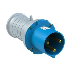 Вилка кабельная ABB 263 P6 IP44 63A 2P+E