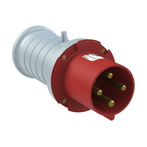 Вилка кабельная ABB 363 P6 IP44 63A 3P+E