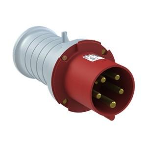 Вилка кабельная ABB 463 P6 IP44 63A 3P+N+E