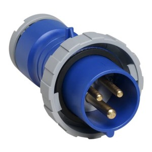 Вилка кабельная ABB 216 P6W IP67 16A 2P+E