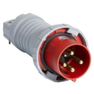 Вилка кабельная ABB 3125 P6W IP67 125A 3P+E