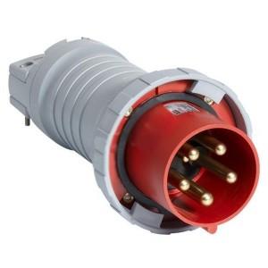 Вилка кабельная ABB 4125 P6W IP67 125A 3P+N+E
