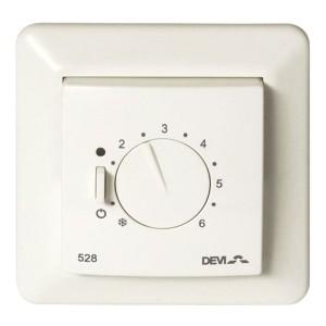 Терморегулятор Devireg 528 с датчиком пола