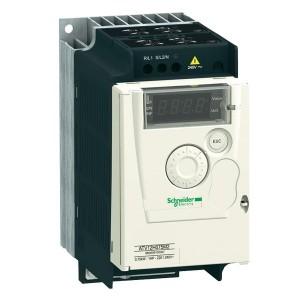 Преобразователь частоты Schneider Electric Altivar ATV12 0.75KВТ 240В 1Ф