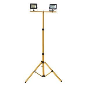Два светодиодных прожектора на стойке FL-LED Light-PAD STAND 2x20W 4200К 3400Lm 220В IP65