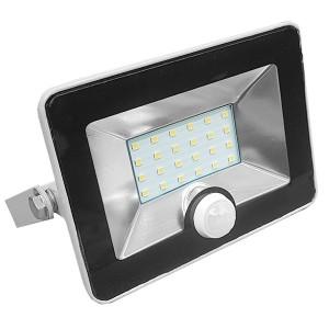 Прожектор светодиодный с датчиком FL-LED Light-PAD SENSOR 10W 4200К 850Lm 220В IP65 140x169x28мм