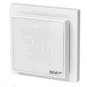 Терморегулятор DEVIreg Smart интеллектуальный с WI-FI, полярно-белый, 16A