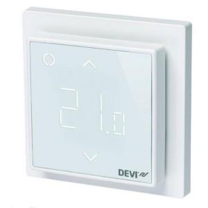 Терморегулятор DEVIreg Smart интеллектуальный с WI-FI, белый, 16A