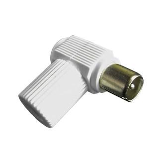 IEC-штекер ТВ угловой