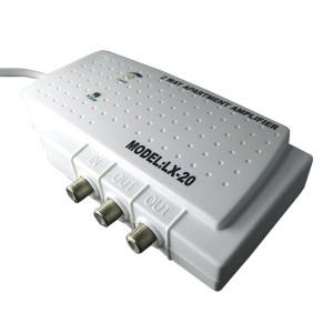 Усилитель квартирный 47…862 МГц G2 х 16 дБ выходной уровень: 2 х 93 дБмкВ (2 канала)