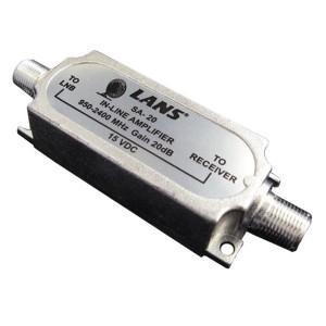 Усилитель SAT 950-2050 МГц коэффициент усиления 20 дБ