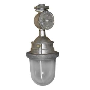 Светильник взрывозащищенный ВЗГ-200 серебристый IP65 200Вт Е27