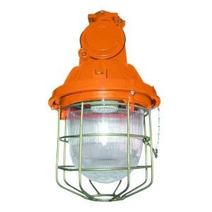 Светильник взрывозащищенный НСП-23-200-001 оранжевый IP65 60Вт Е27 с решеткой