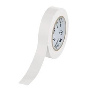 Изолента ПВХ 3M Temflex 1300 белая 15мм х 10 метров (от 0°С до +60°С)