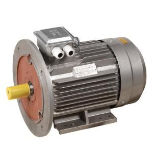 Электродвигатель асинхронный 3ф. АИР 132M6 380В 7,5кВт 1000об/мин (лапы + фланец) 2081 DRIVE IEK