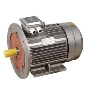 Электродвигатель асинхронный 3ф. АИР 132M4 380В 11кВт 1500об/мин (лапы + фланец) 2081 DRIVE IEK