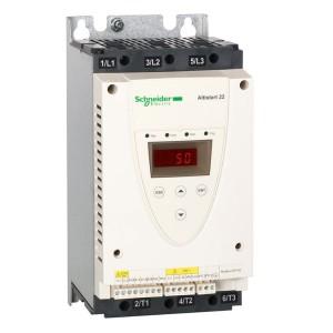 Устройство плавного пуска Schneider Electric ATS22 230В(18,5кВт)/400-440В(37кВт) управление 220В