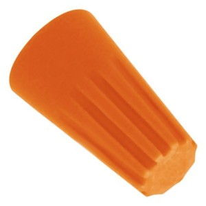 Зажим соединительный изолирующий СИЗ КВТ скрутка 1,5-6,0мм2 оранжевый СИЗ-3 (100шт.) (47526)