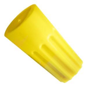 Зажим соединительный изолирующий СИЗ КВТ скрутка 1,5-9,5мм2 желтый СИЗ-4 (100шт.) (47528)