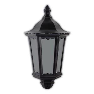 Светильник садово-парковый Классика 6206 E27 240*110*435мм черный (половинка на стену)