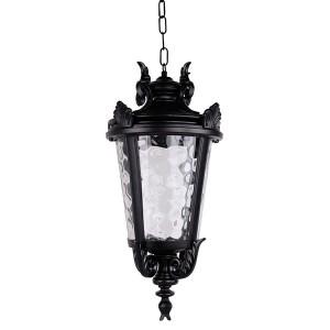 Светильник садово-парковый Прага PL4005 E27 230*230*460мм черный (на цепочке)
