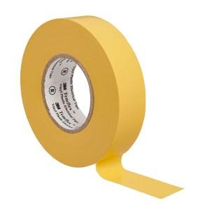 Изолента ПВХ 3M Temflex 1300 желтая 19мм х 20 метров (от 0°С до +60°С)