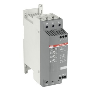 Софтстартер ABB PSR37-600-70 18,5кВт 400В (100-240В AC) устройство плавного пуска