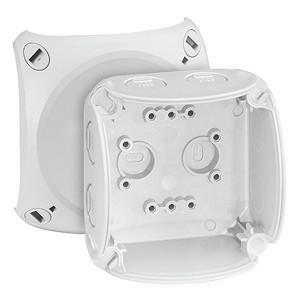 Коробка распределительная Hensel KF 0200 G 93х93х62мм IP66/67 поликарбонат, стойкая к УФ