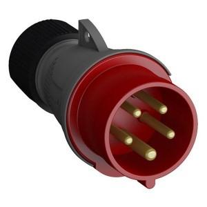 Вилка кабельная Easy&Safe ABB 432EP6 32А 3P+N+E IP44 6ч