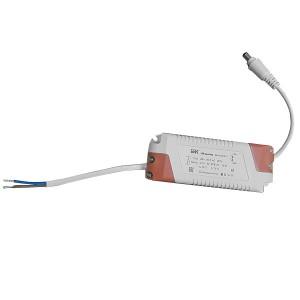 LED-драйвер MG-40-600-01 E для LED светильников 36Вт ДВО 6565S и ДВО 6566S с серебристой рамкой IEK