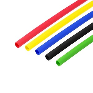 Набор термоусадочной трубки Rexant 4,0/2,0мм 1м (5 цветов по 10 метров)