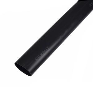 Клеевая термоусадка Rexant 19.0 / 3.2 мм (6:1) 1м черная