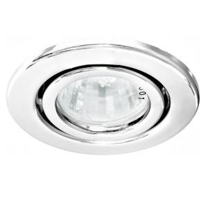 Светильник DL11/DL3202 точечный MR16 G5.3/GU5.3 белый поворотный штампованный