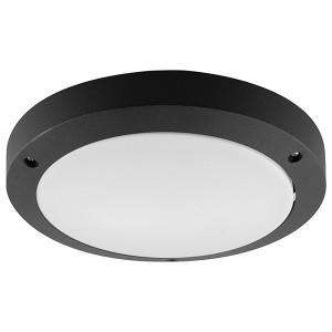 Светильник садово-парковый Техно DH030 230V E27 270x75mm черный без лампы
